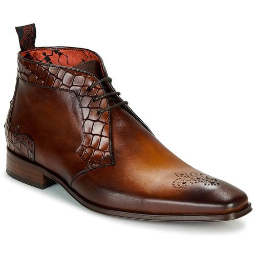 Shoes Men Mid boots Jeffery-West  Brown