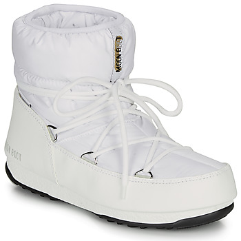 Shoes Women Snow boots Moon Boot MOON BOOT LOW NYLON WP 2 White