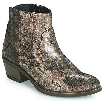 Shoes Women Mid boots Elue par nous FLO Bronze