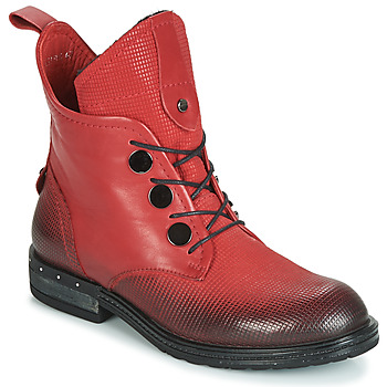 Shoes Women Mid boots Metamorf'Ose FABLE Red