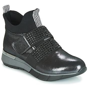 Shoes Women Hi top trainers Metamorf'Ose FAGNO Black
