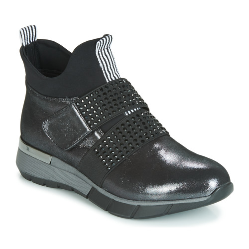 Shoes Women Hi top trainers Metamorf'Ose FAGNO Black