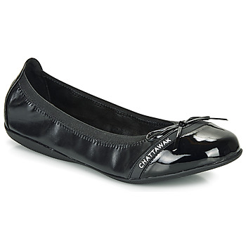 Shoes Women Flat shoes Chattawak CAPRICE Black