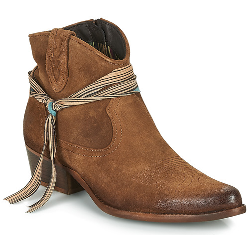 Shoes Women Mid boots Felmini SERRAJE Brown