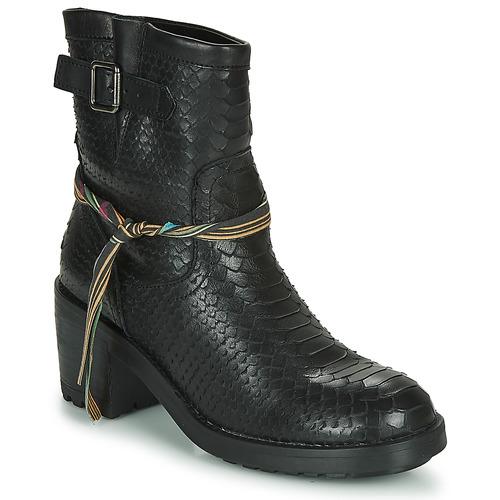Shoes Women Ankle boots Felmini NAHA Black