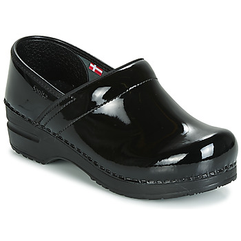 Shoes Women Clogs Sanita PROF Black