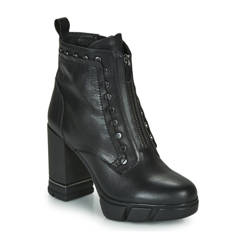Shoes Women Ankle boots Café Noir BONNIE Black
