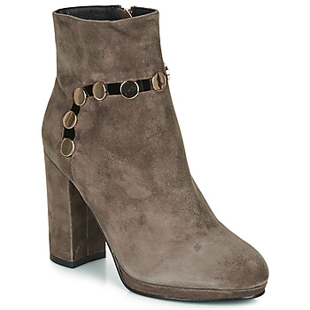Shoes Women Ankle boots Café Noir JULIET Taupe