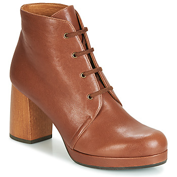Shoes Women Ankle boots Chie Mihara GOIA34 Brown