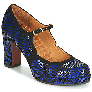 Shoes Women Heels Chie Mihara JOLY Blue / Black