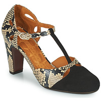 Shoes Women Heels Chie Mihara KUNA Black / Beige