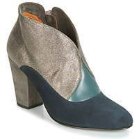 Shoes Women Ankle boots Chie Mihara ELGI Silver / Marine