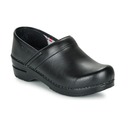 Shoes Clogs Sanita PROF Black
