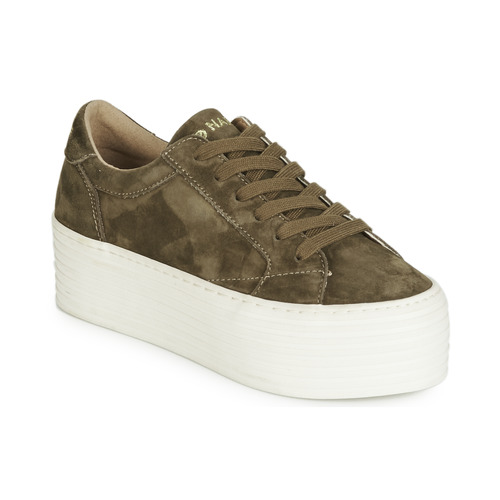Shoes Women Low top trainers No Name SPICE SNEAKER Kaki