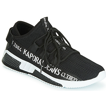 Shoes Men Low top trainers Kaporal DOFINO Black