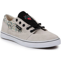 Shoes Women Low top trainers DC Shoes DC Bristol LE 303214-TDO beige, black