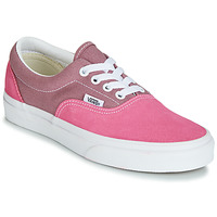 Shoes Women Low top trainers Vans ERA Pink