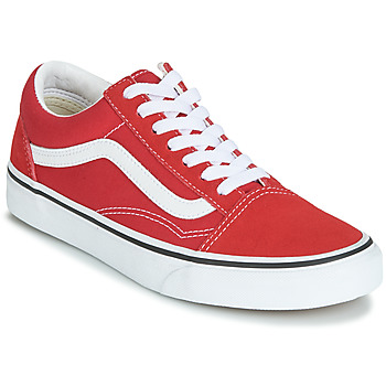 Shoes Low top trainers Vans OLD SKOOL Red