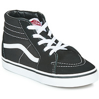 Shoes Children Hi top trainers Vans TD SK8-HI Black / White