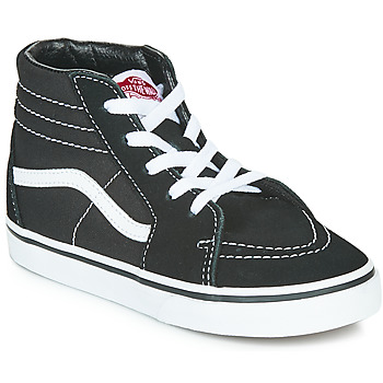 Shoes Children Hi top trainers Vans TD SK8-HI Black / White