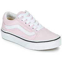 Shoes Girl Low top trainers Vans UY OLD SKOOL Pink
