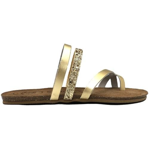 Shoes Women Sandals Amoa sandales LORGUES Or Gold