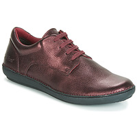 Shoes Women Derby Shoes Kickers FOWFO Purple