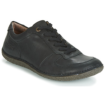 Shoes Women Derby Shoes Kickers HOME Black