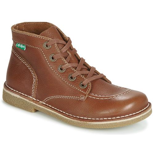 Shoes Women Mid boots Kickers LEGENDIKNEW Camel
