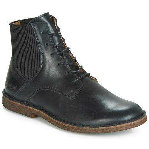Shoes Women Mid boots Kickers TITI Black