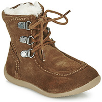 Shoes Children High boots Kickers BAMARA Camel
