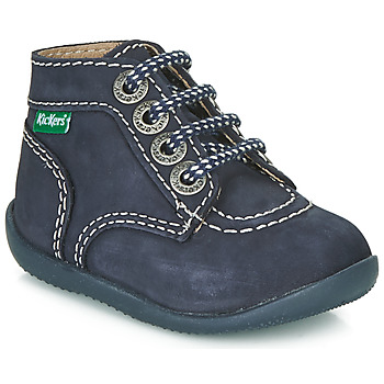 Shoes Children Mid boots Kickers BONBON Marine