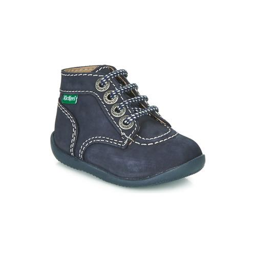 Shoes Children Mid boots Kickers BONBON Marine