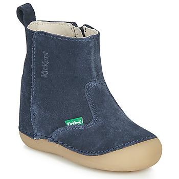 Shoes Children High boots Kickers SOCOOL Marine