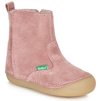 Shoes Girl High boots Kickers SOCOOL Pink