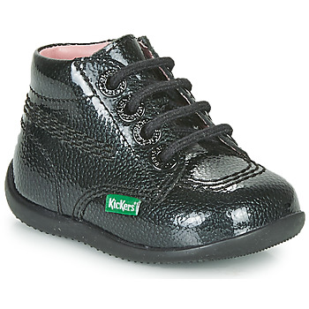 Shoes Girl Mid boots Kickers BILLISTA ZIP Black