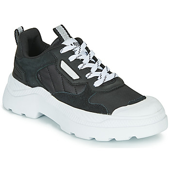 Shoes Women Low top trainers Palladium PALLAKIX 90 LOW Black / White