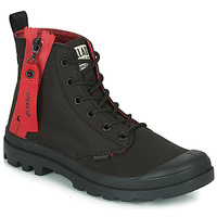 Shoes Mid boots Palladium PAMPA UNZIPPED Black