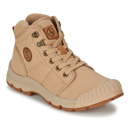 Shoes Men Hi top trainers Aigle TENERE LIGHT Beige