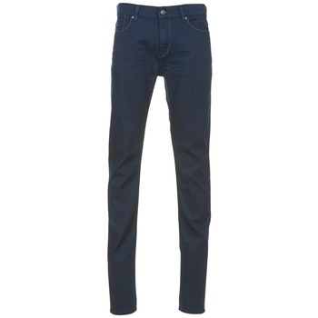 Clothing Men slim jeans 7 for all Mankind RONNIE Blue / Dark