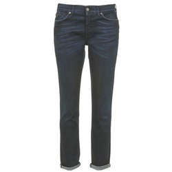 Clothing Women slim jeans 7 for all Mankind JOSEFINA Blue / Dark