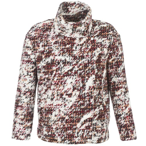 Clothing Women Coats See U Soon POTNO Brown / Beige