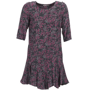 Clothing Women Short Dresses See U Soon BOETICO Black / Purple