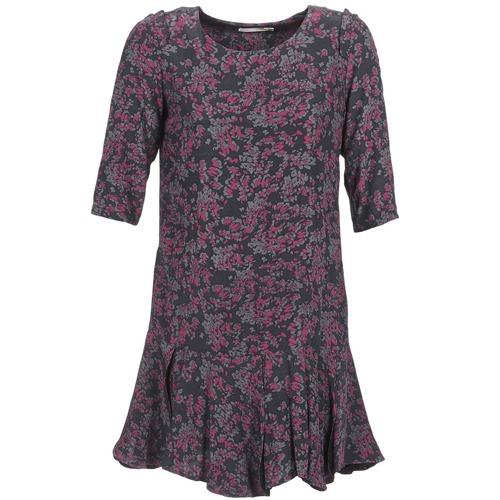 Clothing Women Short Dresses See U Soon BOETICO Black / Purple