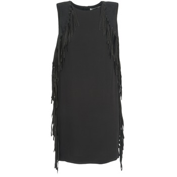 Clothing Women Short Dresses See U Soon LOUBIRA Black