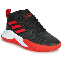 Shoes Children Basketball shoes adidas Performance OWNTHEGAME K WIDE Black / Red