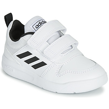 Shoes Children Low top trainers adidas Performance VECTOR I White / Black