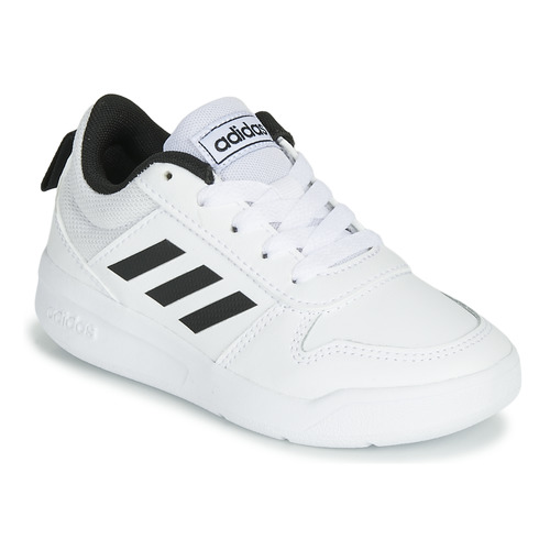 Shoes Children Low top trainers adidas Performance TENSAUR K White / Black