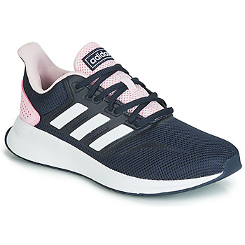 Shoes Women Low top trainers adidas Performance RUNFALCON Black / Pink