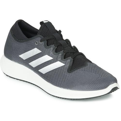 Shoes Men Low top trainers adidas Performance EDGE FLEX M Black / Grey